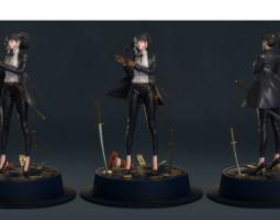 2012期游戏3D美术大师班1班【O】的五星作品