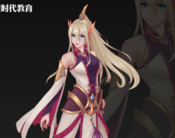 2104期游戏原画大师班1班【O】的五星作品