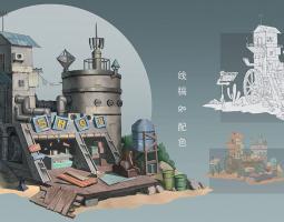 2103期游戏原画大师班1班【O】的五星作品