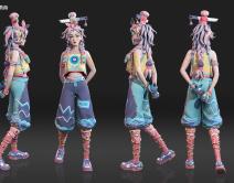 2105期3D模型大师班1班【O】的五星作品